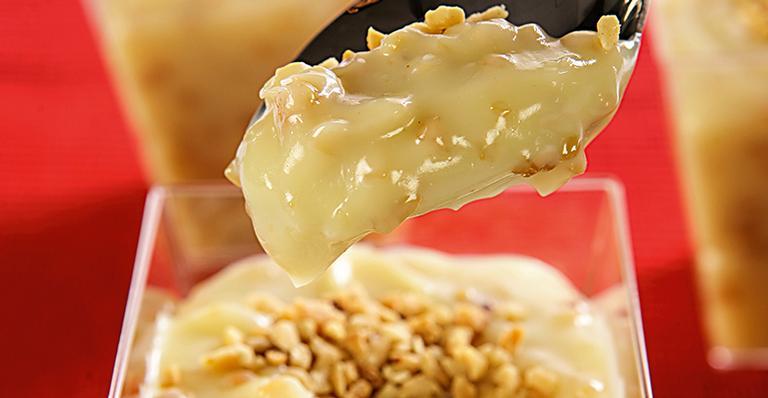 Receita de Brigadeiro de colher com amendoim