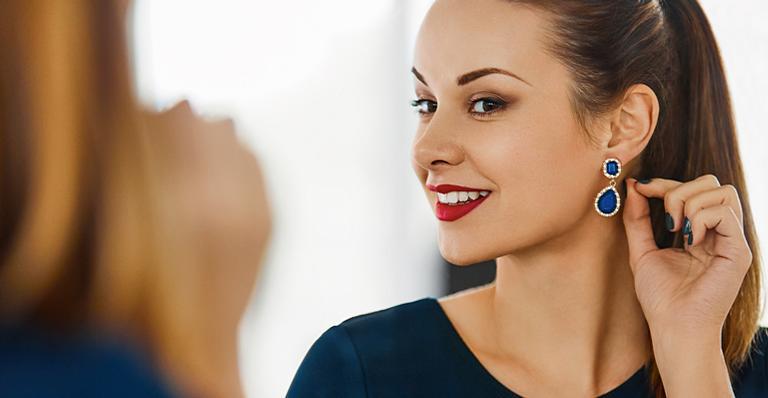 O brinco ideal para cada formato de rosto | <i>Crédito: Shutterstock