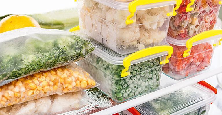Congele os alimentos do jeito certo