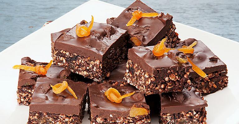 Receita de Barrinhas de chocolate