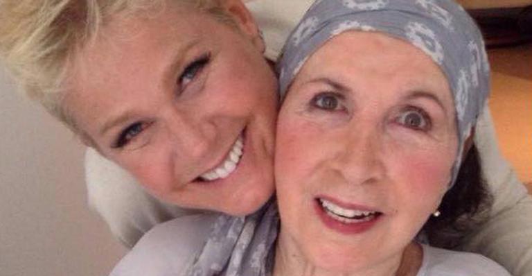 Xuxa e Dona Alda, que morreu nesta terça-feira, 8 de maio