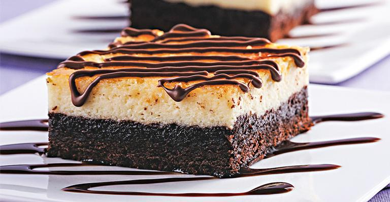 Receita de Torta gelada de brownie