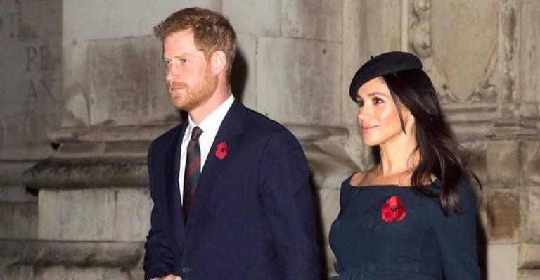 Príncipe Harry e Meghan Markle, a duquesa de Sussex