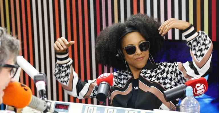 Negra Li deu entrevista ao ''Morning Show'', da Jovem Pan
