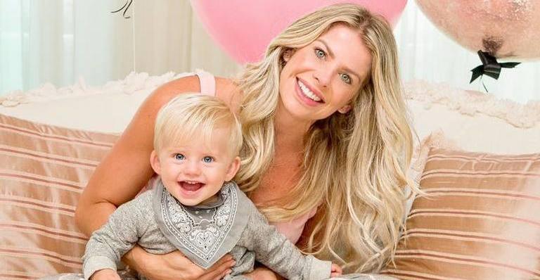 Enrico tem 1 ano de idade e foi gerado por inseminação artificial.