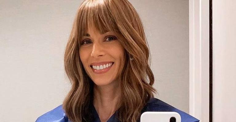 Ana Furtado está na quarta semana de radioterapia