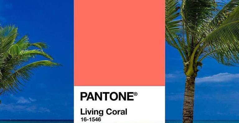 A tonalidade foi inspirada em tons dos corais no fundo do mar