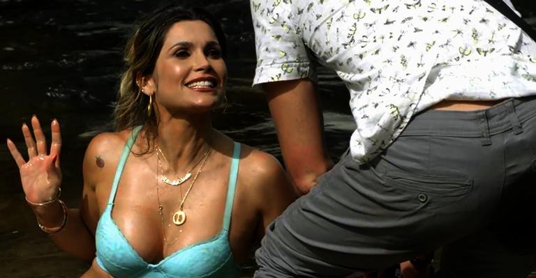 Flávia Alessandra é Rita de Cássia em O Sétimo Guardião.