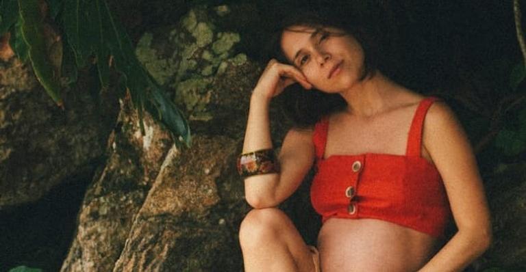 Daphne Bozaski deu luz a Caetano, seu primeiro filho