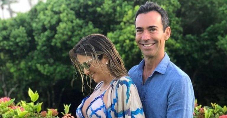 Ticiane Pinheiro está grávida de seu segundo filho.