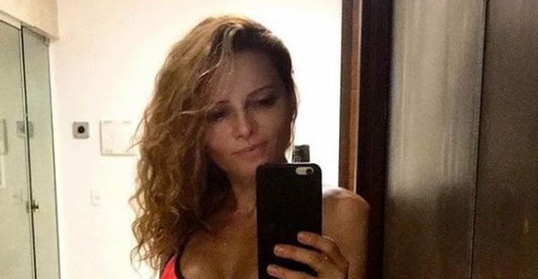 Rita Guedes mostra boa forma