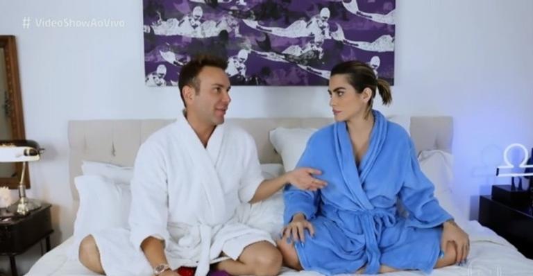 Matheus Mazzafera entrevista Cleo Pires