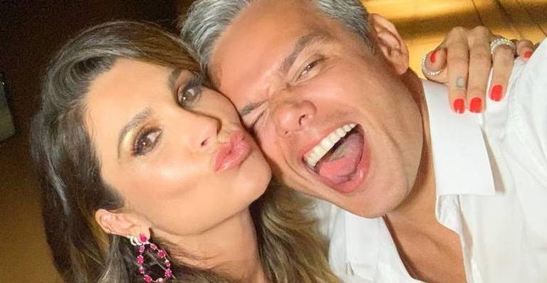 Flávia Alessandra e Otaviano Costa estão juntos há mais de 10 anos
