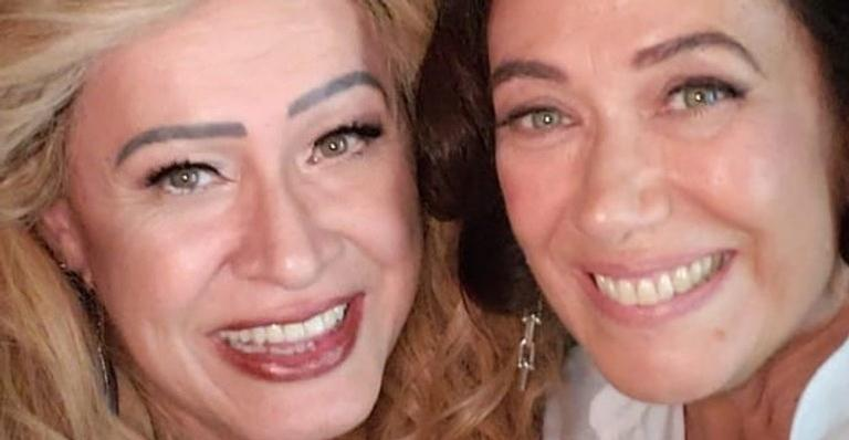 As atrizes Nany People e Lilia Cabral.
