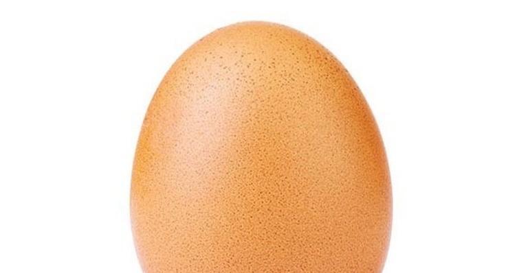 A imagem de um simples ovo está fazendo sucesso