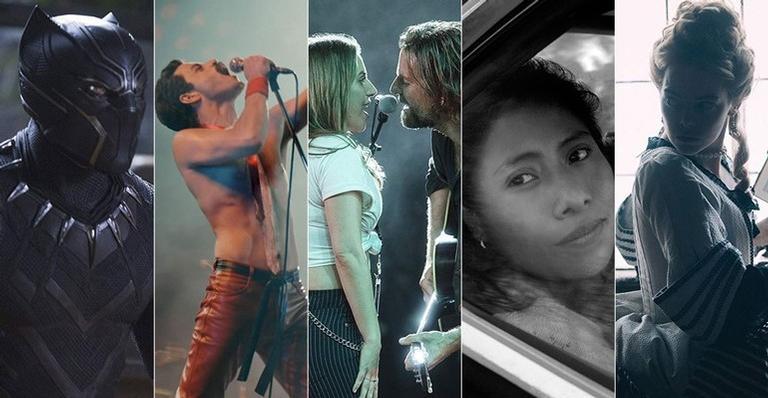 'Pantera Negra', 'Bohemian Rhapsody', 'Nasce uma estrela', 'Roma' e 'A Favorita' estão entre os indicados.