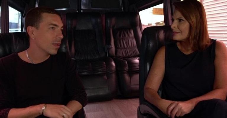 Di Ferrero participou do quadro 'Carona com Laura Muller' no programa Altas Horas do último sábado (16)