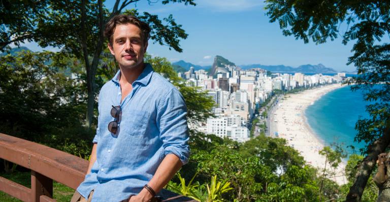 Daniel (Rafael Cardoso) no Rio de Janeiro