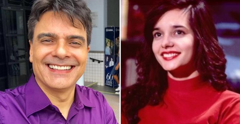 Guilherme de Pádua e a atriz Daniella Perez, morta em 1992 por ele e a ex-mulher, Paula Thomaz.