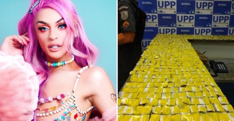 Mais de 700 papelotes de cocaína é apreendido por policiais da UPP Borel.