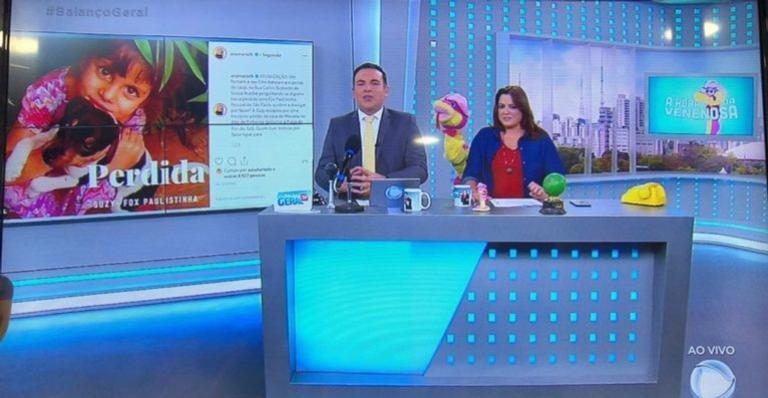 Cachorrinha da neta da apresentadora estava sumida desde o fim de semana do dia 30 de março