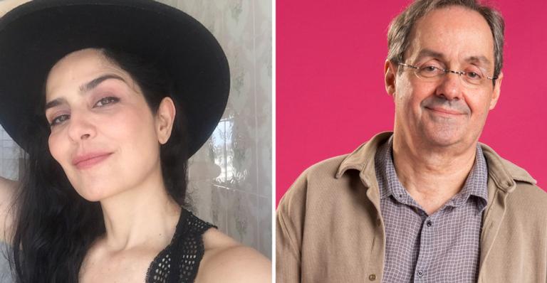 Letícia Sabatella e Daniel Dantas.