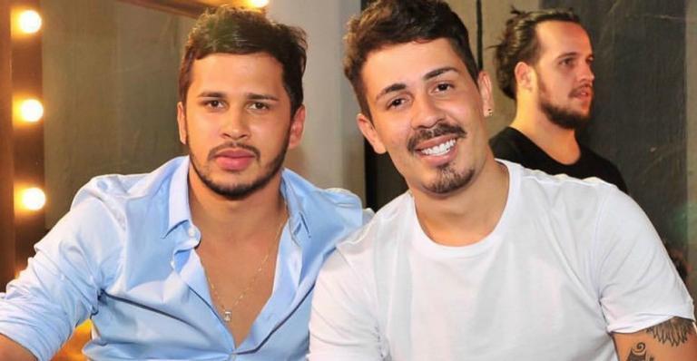 Carlinhos Maia e o noivo, Lucas Guimarães.
