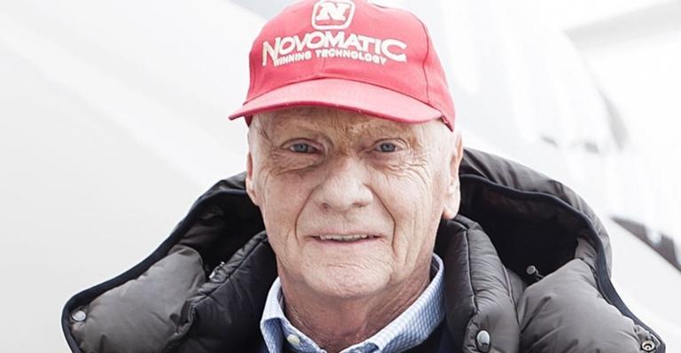 Niki Lauda recebeu homenagens de marcas e amigos