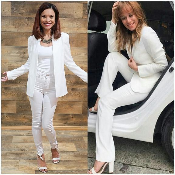 cda8f70e52 Blazer branco é curinga do guarda-roupa feminino