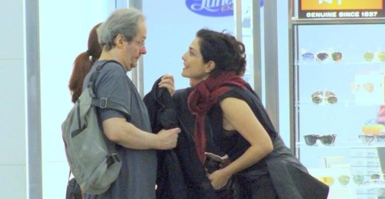 Leticia Sabatella e Daniel Dantas