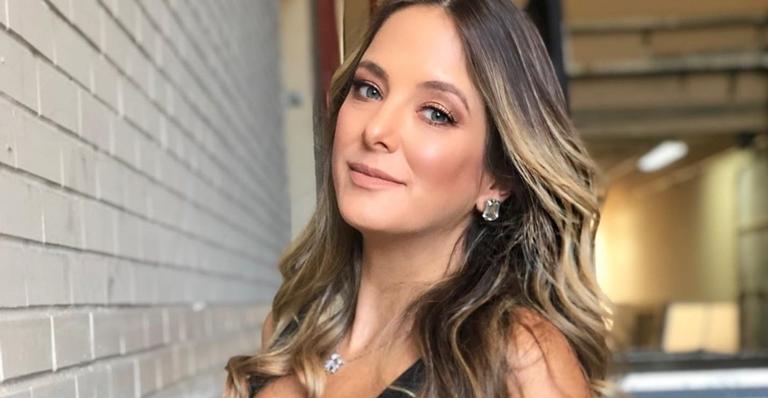 Apresentadora Ticiane Pinheiro falou sobre data que filha deve nascer