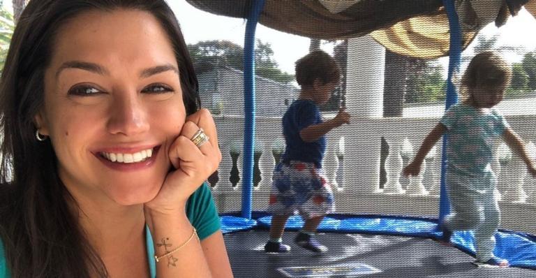 Atriz Thais Fersoza revelou que está trabalhando para ter mais um filho