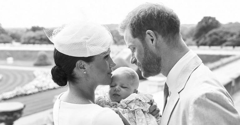 Filho de Meghan e príncipe Harry é batizado; veja fotos