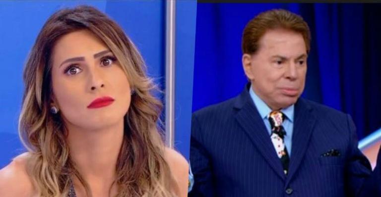 Após ser chamada de ''bêbada'' e ''maconheira'', Lívia Andrade é expulsa por Silvio Santos