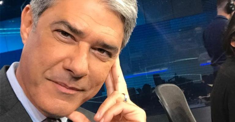 William Bonner é âncora do 'Jornal Nacional'