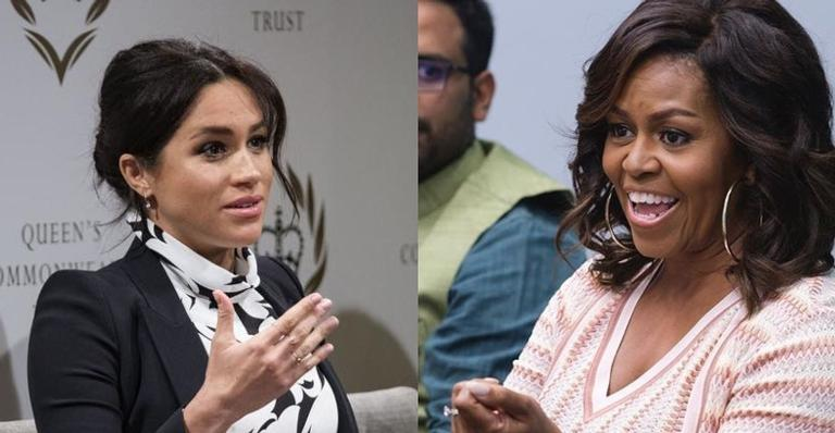 Michelle Obama dá conselhos sobre como educar os filhos para Meghan Markle