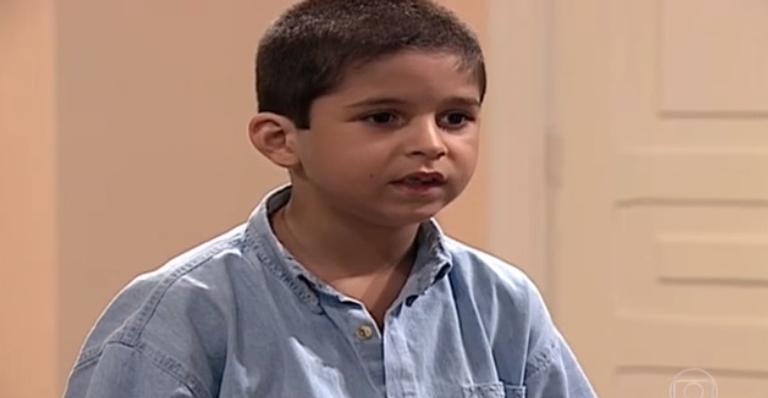 Leo Lemos interpretou Nestorzinho em 'Por Amor'