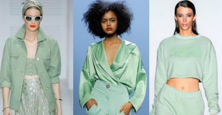 Neon mint, tie dye, floral e outras tendências que irão bombar na moda primavera/verão