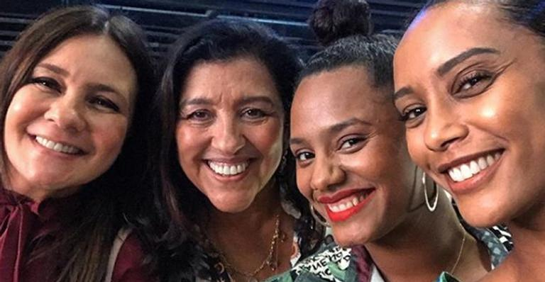 Adriana Esteves, Regina Casé, Jessica Ellen e Taís Araújo