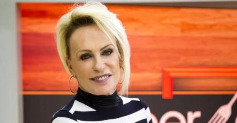 Durante programa, Ana Maria Braga parabeniza ex-marido por aniversário