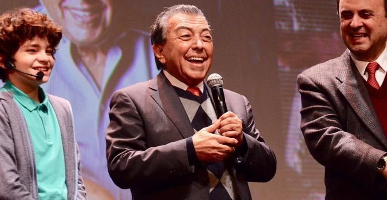 Mauricio de Sousa recebe prêmio no 47º Festival de Cinema de Gramado
