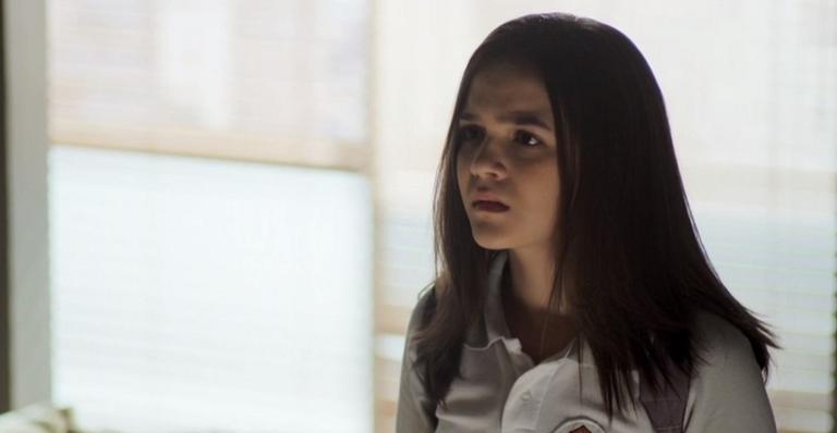Cássia é interpretada por Mel Maia em 'A Dona do Pedaço'