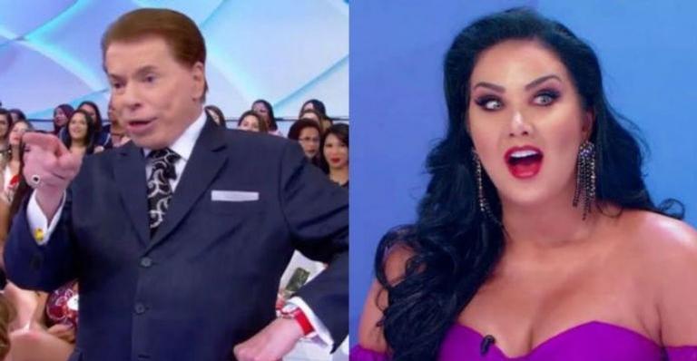 Silvio Santos ameaça Helen Ganzarolli: ''Se engordar, vou te tirar do programa''