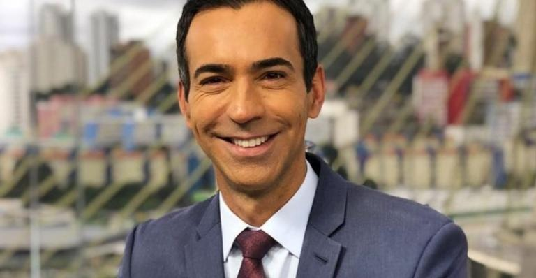 César Tralli é o apresentador do SP1, na Rede Globo