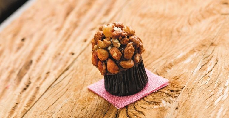 Cupcake Praliné