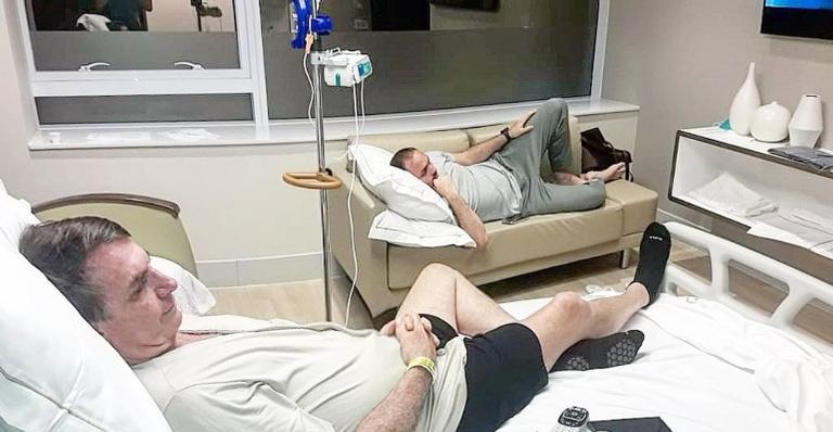 Jair Bolsonaro se recupera no hospital