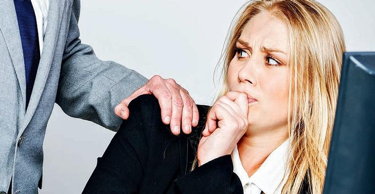 O assédio sexual pode ser constatado por qualquer proposta, provocação ou chantagem de natureza sexual