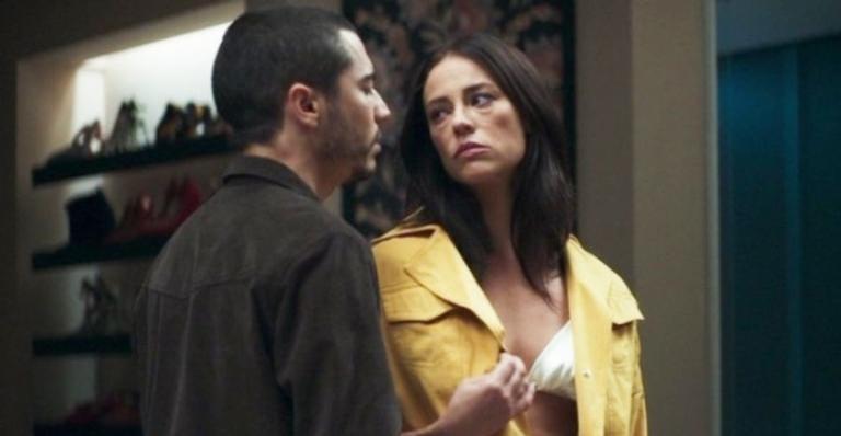 Em 'A Dona do Pedaço', Camilo ficará furioso com Vivi Guedes e chocará com atitude