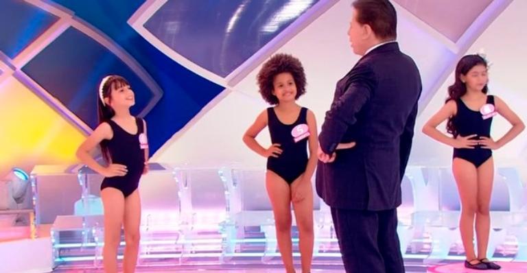 Silvio Santos é notificado pela Justiça sobre concurso de beleza infantil