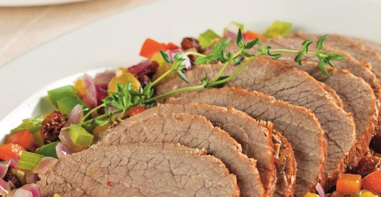 Carne de panela com molho especial